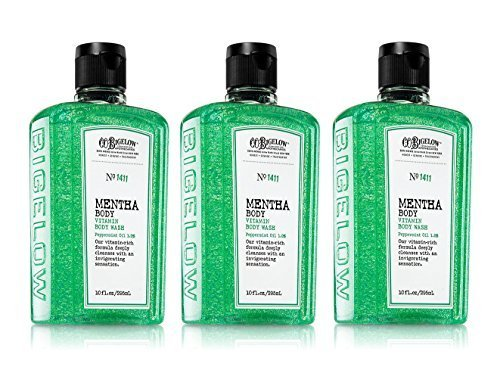 Mentha Body Vitamin Wash With Peppermint Oil