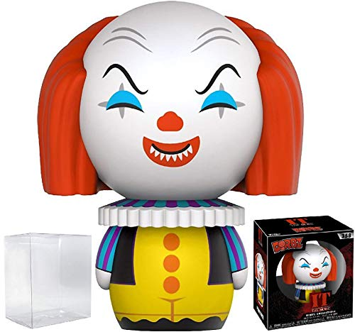 Funko Dorbz Horror: Stephen King's It - Pennywise Clown Vinyl Figure (Bundled with Pop BOX PROTECTOR CASE)