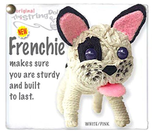- Kamibashi Frenchie The French Bulldog The Original String Doll Gang Keychain Clip
