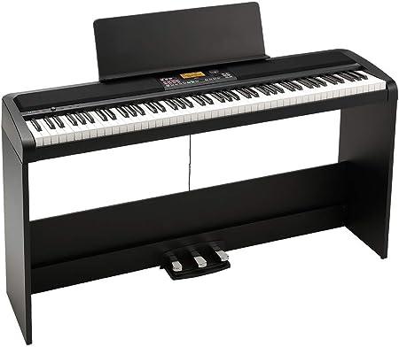 KORG Piano digital XE20SP con soporte, atril y unidad de ...