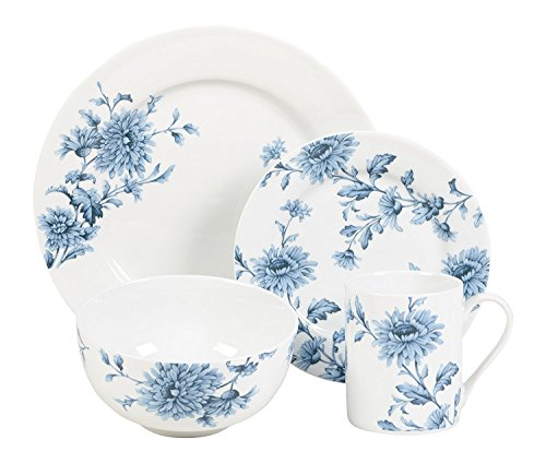 (Spode Vintage Denim - 16 Piece Set)