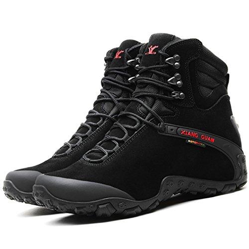 High top da trekking Guan Xiang escursionismo Nero Impermeabile Militari Traspirante Outdoor EU Stivali 40 Scarpe Scamosciato Sport Donna w6XII7q