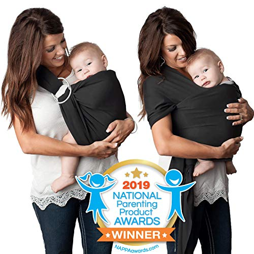4 in 1 Baby Wrap Carrier and Ring Sling by Kids N