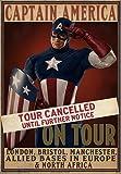 EFX Sports eFx Captain America Tour Cancelled Movie Prop Poster