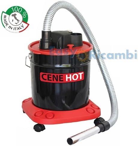 Aspirador eléctrico cenizas frías para estufa de pellets 18lt 950 ...