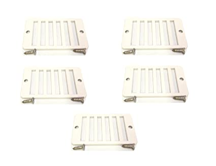 Amazon.com: 5 Pack Swimming Pool Deck Drain Rectangular Grate 2x4 ...