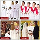 IvyRobes Unisex Adults Matte Choir Robes for Church