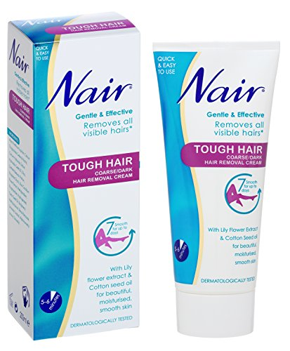 Nair Tough Hair Removal Cream For Coarse Dark Hair With