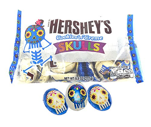 Hershey's Cookies n Cream SKULLS (Hershey's Cookies And Creme Halloween)
