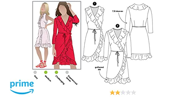 - Click for Other Sizes Available by Style Arc Sizes 04-16 Jacinta Knit Dress Style Arc Sewing Pattern