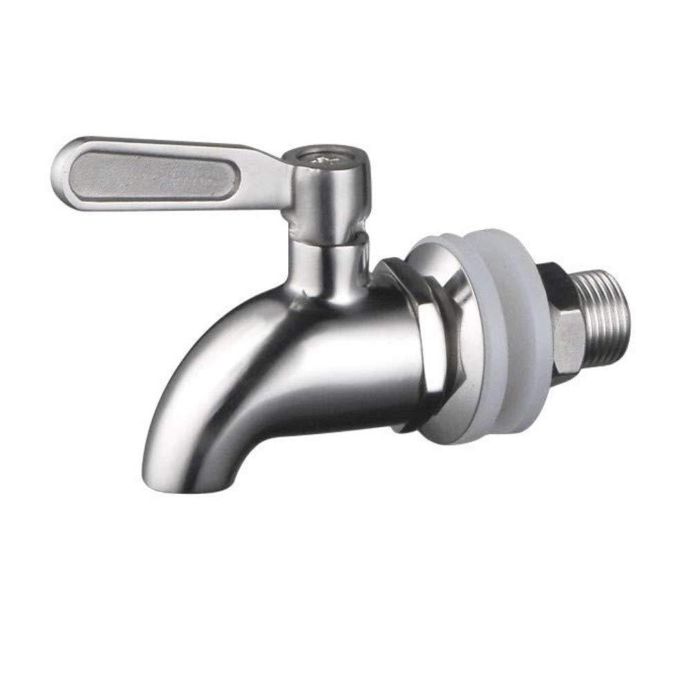JZK Acciaio Inox rubinetto per dispenser bevande acqua ricambio rubinetto per distributore per bevande birra vino succo liquori wiskey