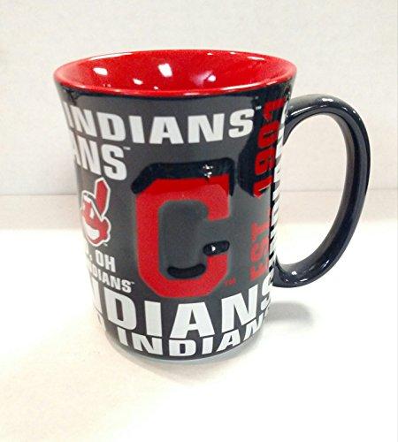 Boelter Brands Cleveland Indians 17 oz Spirit Ceramic Coffee Mug