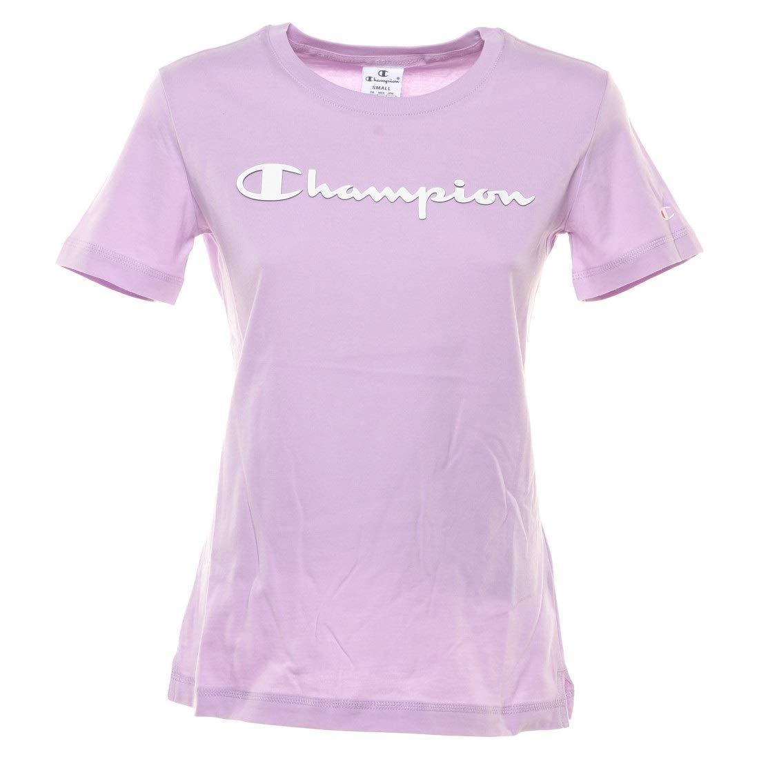 Champion T-Shirt Damen 111924 S19 BS501 NNY Dunkelblau