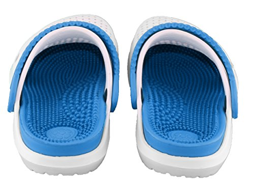 Uomo Brandsseller blu Zoccoli Bianco Brandsseller Zoccoli qtx8Zt