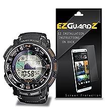(6-Pack) EZGuardZ Screen Protector for Casio Protrek PRW 2500 (Ultra Clear)