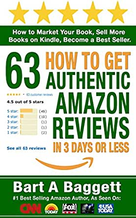 Amazon.com: How to Get 63 Authentic Amazon Reviews in 3
