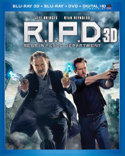 Blu-ray 3D : R.I.P.D. (With DVD, With Blu-Ray, Ultraviolet Digital Copy, 3 Dimensional, Snap Case)