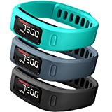 (US) SKYLET Colorful Fitness Replacement bands for Garmin Vivofit(No Tracker)