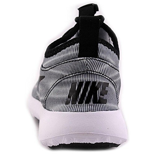 Nike Juvenate Print Donna In Tela Tinta Unita Grigio Scarpa Da Corsa Bianco / Nero-grigio Freddo