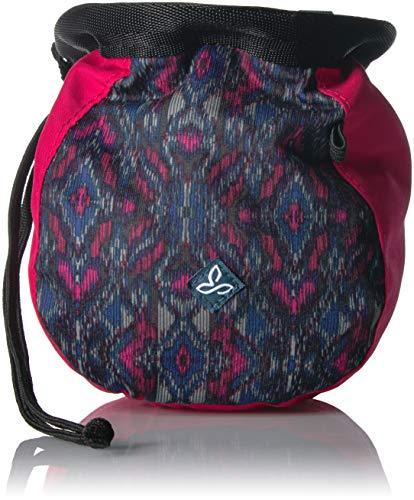prAna Women's Large Women's Chalk Bag with Belt, One Size, Sapphire Flores (Prana Womens Chalk Bag)