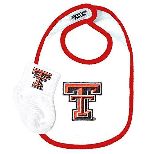 - Future Tailgater Texas Tech Red Raiders Baby Bib and Socks Set