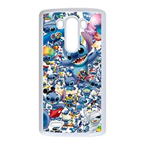 Lilo & Stitch LG G3 Cell Phone Case White y2e18-390040