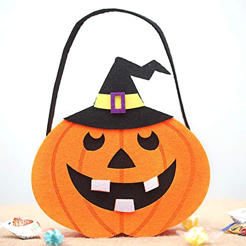 MOKO-PP Halloween Cute Witches Candy Bag Packaging Children Party Storage Bag Gift (G)