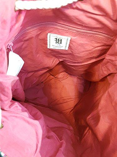 Colored De Colors Backpack varios Gorétt Gorétt Algodón lxwxh Coral amp; Coral Pink Color Cgin09011 36x12x40cm Colores Ethnic 36x12x40cm lxwxh Chenson various Cgin09011 Cotton Pink Chenson Mochila Étnico amp; BxSq5A0