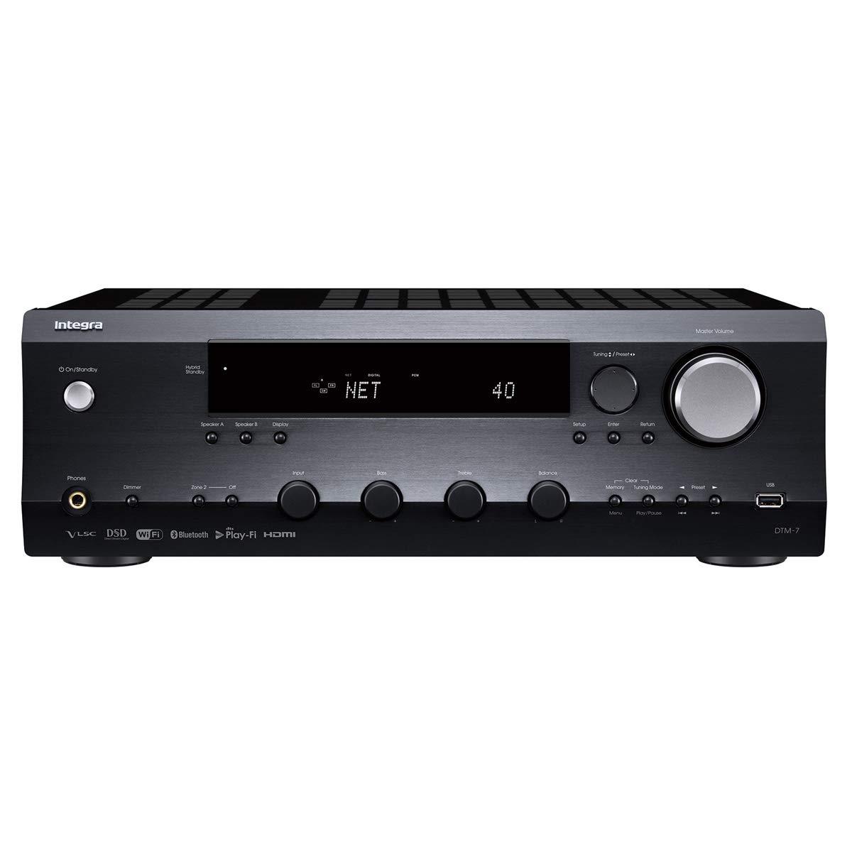 Integra DTM-7 Network A/V Stereo Receiver by Integra