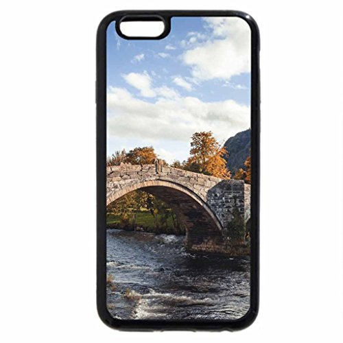 iPhone 6S / iPhone 6 Case (Black) lovely stone bridge in an english countryside