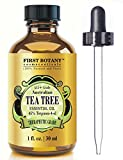 Beauty : 100% Pure Australian Tea Tree Essential Oil with 45% Terpinen-4-ol, 1 fl. oz. A Known Solution to Help in Fighting Acne, Toenail Fungus, Dandruff, Yeast Infections, Cold Sores..
