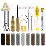 YG_Oline 41 Pcs Upholstery Repair Kit, Leather Tool