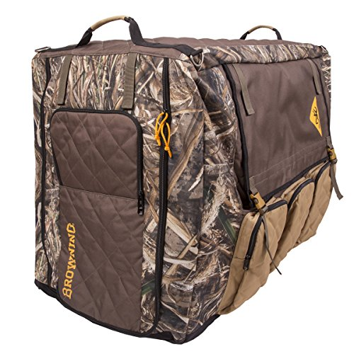 Browning Insulated Crate Cover Camo Dog Crate Cover, Insulated, Realtree Max, Large
