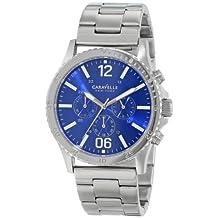 Bulova Caravelle New York Men's 43A116 Stainless Steel Bracelet Watch