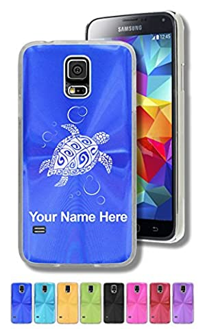 Case for Samsung Galaxy S5 - Hawaiian Sea Turtle - Personalized Engraving Included (Samsung Galaxy S5 Cases Hawaii)