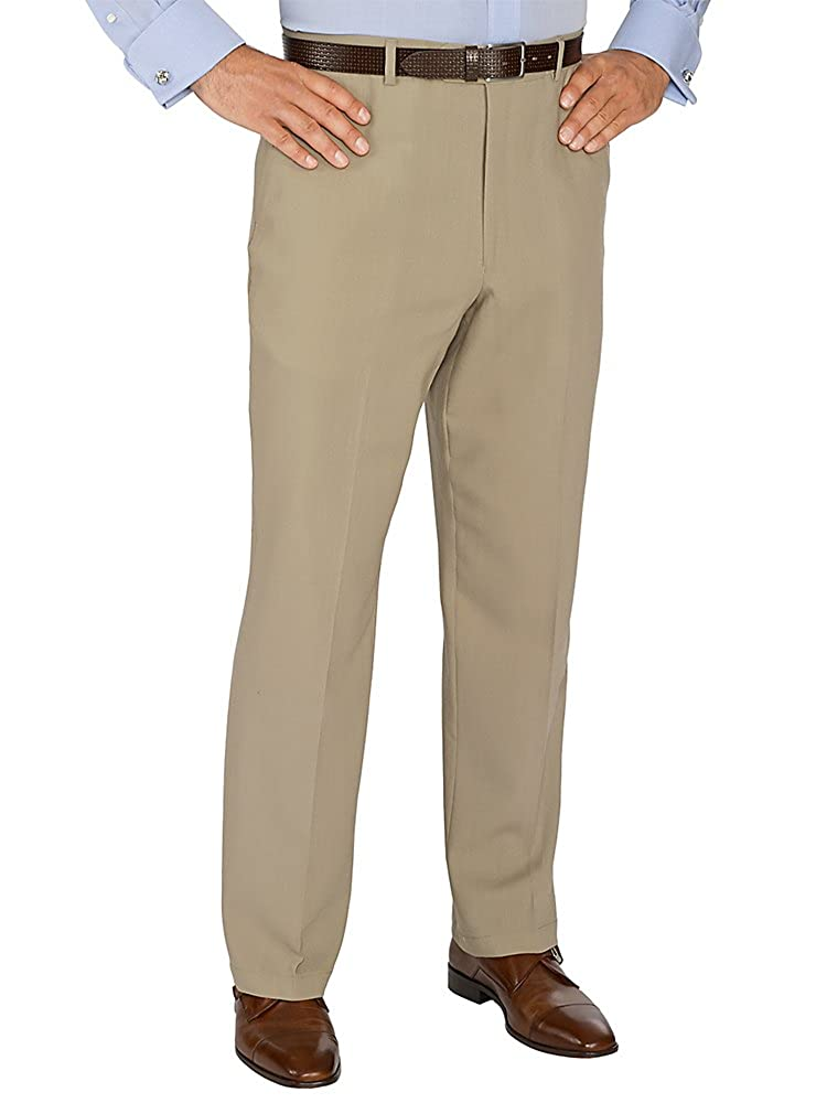 Paul Fredrick Men's Wool Flat Front Suit Pants RMH140T000000