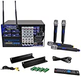 VocoPro PA-MAN II Four-Channel Wireless All-In-One P.A. System