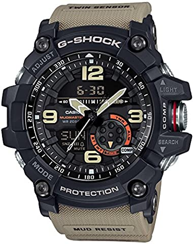 CASIO G-SHOCK MASTER OF G MUDMASTER GG-1000-1A5JF MENS JAPAN IMPORT (Gshock Watches Master Of G)