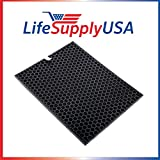 LifeSupplyUSA Charcoal Carbon Filter for Rabbit Air The BioGS 2.0 Ultra Quiet Air Purifier RabbitAir Model SPA-550A and SPA-625A