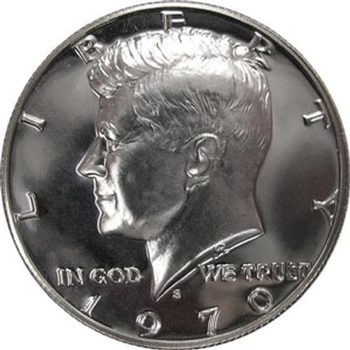 1970 S SILVER Gem Proof Kennedy Half Dollar US Coin - Half Dollar Us Silver Coin