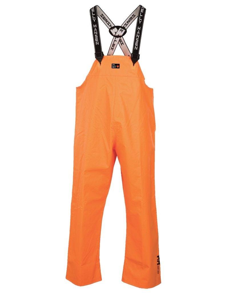 Helly Hansen Work Overalls Men Fox Creek Fire Resistant M Orange 70540