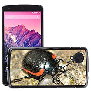 Hot Style Cell Phone PC Hard Case Cover // M00113543 Insects Beetles Chrysolina Rossia // LG Nexus 5
