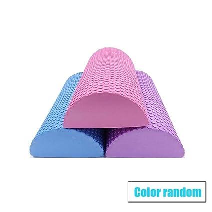 Amazon.com : yerflew Half Round Foam Yoga Roller Massage ...