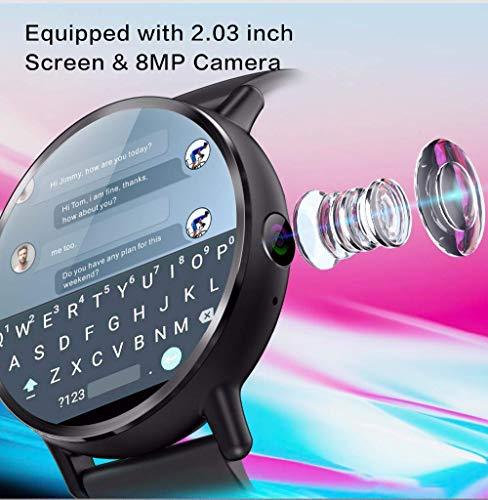 Amazon.com: OJBDK Reloj inteligente Android 7.1 LTE 4G SIM ...