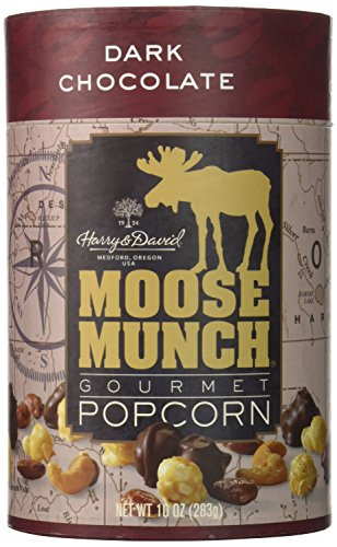 Moose Munch (Harry & David, Moose Munch Gourmet Popcorn, Dark Chocolate, 10 Oz.)