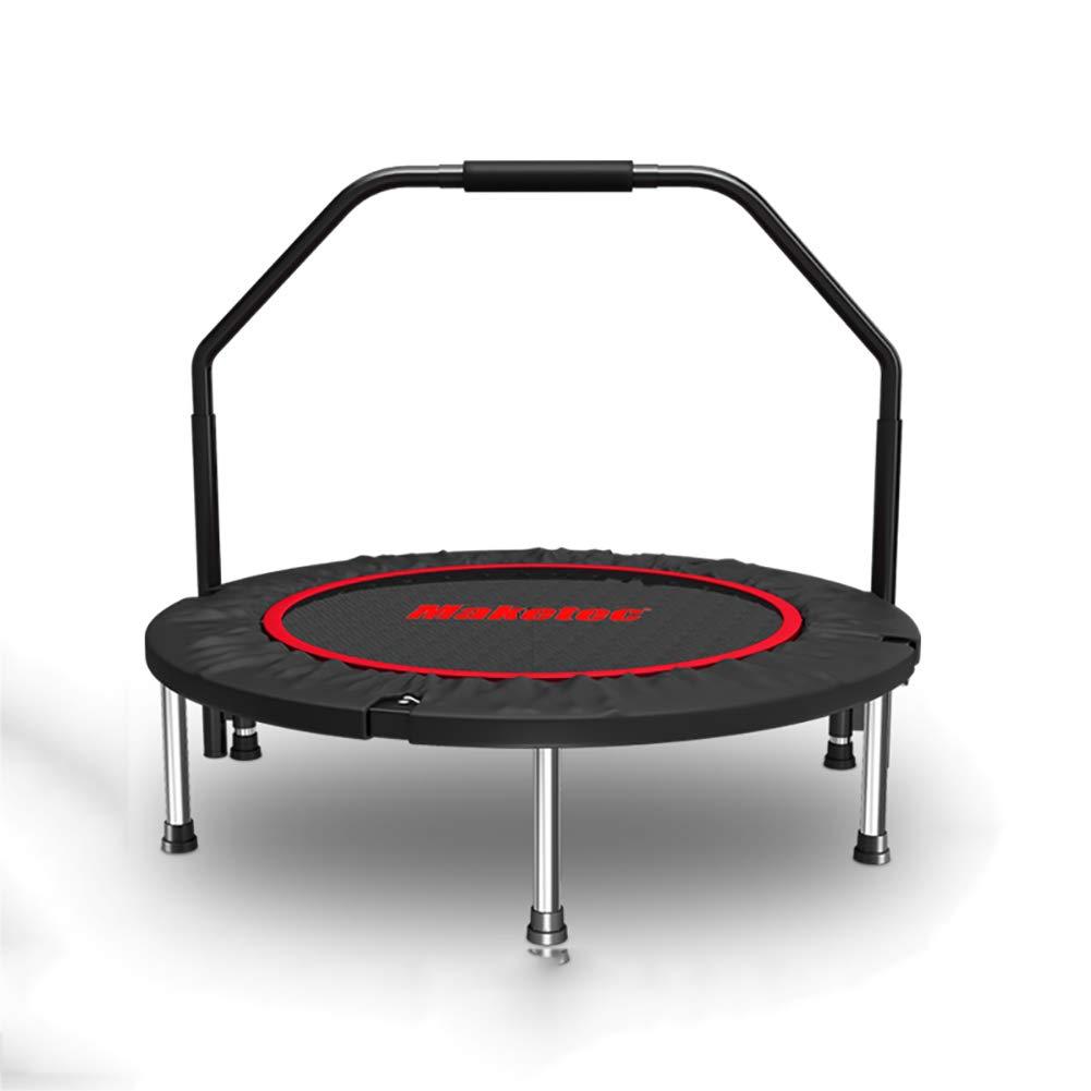 HECHEN Trampolin Zusammenklappbare Sicherheits-Trommelfeder-Home Indoor Erwachsenen-Turnhalle-Kinder-Trampolin Indoor-Sprungbett