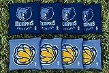 NBA Replacement All Weather Cornhole Bag Set NBA Team: Memphis Grizzlies