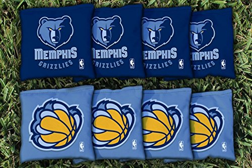 NBA Replacement All Weather Cornhole Bag Set NBA Team: Memphis Grizzlies by Victory Tailgate