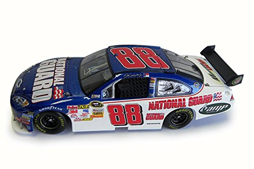 2009 Nascar Dale Earnhardt #88 National Guard/AMP Energy Chevy Impala SS, White/Blue - NASCAR C8689 - 1/24 Scale Diecast Model Toy - Diecast Guard Car