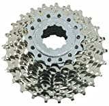 Shimano CS-HG50 Tiagra/105 Bicycle Cassette (9-Speed, 13/25T, Silver)